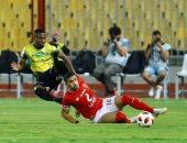 فيديو وصور.. أزارو يهدر فرصة تسجيل الهدف الثاني للأهلي ضد المقاولون