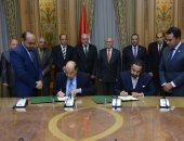 توقيع بروتوكول بين الإنتاج الحربى وشركة سعودية فى مجال تصنيع موانع التسريب