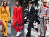 الموضة بتقولك أوفر سايز.. تصميمات بدل واسعة من غير بهرجة