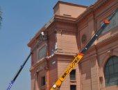 حصاد الثقافة.. بدء أعمال ترميم المتحف المصرى وتحذيرات لمواقع قرصنة الكتب