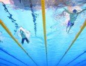 اشتداد المنافسات بين المتسابقين فى بطولة العالم الـ18 للسباحة فى كوريا الجنوبية