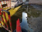اضبط مخالفة.. غرق شوارع منطقة منشية محيى سعد بالغربية بمياه الصرف (صور)