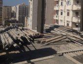 صور .. التصدى لبناء 5 عقارات مخالفة بحى وسط الأسكندرية