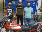 حبس عناصر تشكيل عصابى 4 أيام لسرقتهم دراجة نارية بطنطا