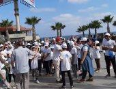 صور.. 1650 شخص يشاركون فى ماراثون رياضى بالإسكندرية