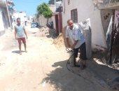 تنفيذ حملة رش البعوض والناموس بخمس مناطق داخل العريش (صور)