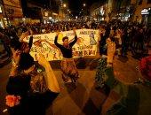 مظاهرات بتشيلى للمطالبة بالسماح بالإجهاض