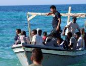 ارتفاع عدد المهاجرين قبالة الساحل الليبى إلى 176
