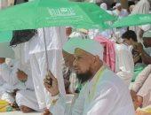 شئون الحرمين بالسعودية توزع 100  ألف مظلة لضيوف الرحمن