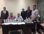 صور.. جمارك مطار سوهاج تضبط محاولة تهريب كمية من الأدوية البيطرية