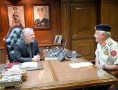 العاهل الأردنى الملك عبد الله الثانى يزور القيادة العامة للقوات المسلحة