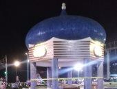 حديقة سيدى بشر تتزين قبل افتتاحها فى العيد القومى