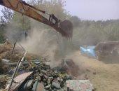 أمن القليوبية يزيل 117 حالة تعدٍ على نهر النيل وأملاك الدولة بطوخ
