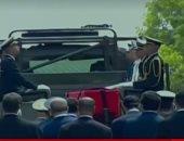 بدء مراسم توديع السبسى لمثواه الأخير وسط تأمين الجيش التونسى