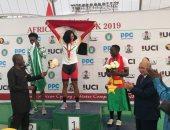 ابتسام زايد تحقق ذهبية البطولة الأفريقية للدراجات.. صور
