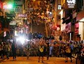 المحتجون على حكومة هونج كونج يستأنفون تظاهراتهم وسط دعوات لاضراب شامل
