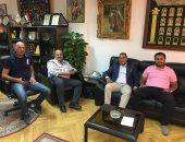 صور.. الأولمبية المصرية تستقبل سكرتير عام اللجنة الليبية