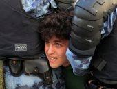 صور.. الأمن الروسى يعتقل 1074 شخصا فى تظاهرات غير مرخصة وسط موسكو