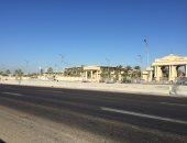 فيديو ..هدوء تام في محيط برج العرب قبل قمة الأهلي والزمالك