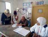 صور.. صحة البحر الأحمر: تعلن الكشف على 119 مواطن فى قافلة طبية بالزعفرانة