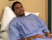 جدو يطمئن متابعيه على حالته الصحية بعد جراحة الوجه