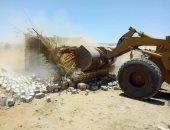 صور.. إزالة 309 حالة تعدى فى الموجة الـ 13 لإسترداد حق الشعب بسوهاج