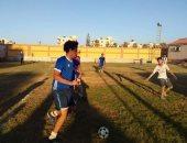 أنشطة رياضية بفعاليات أولمبياد كليات الجامعة الشاطئ بمعسكر جامعة المنصورة بجمصة
