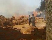 ننشر أول فيديو لحريق مصنع كتان بالغربية.. والخسائر المبدئية 2 مليون جنيه