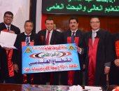 محافظ القليوبية ورئيس جامعة بنها يشهدان احتفالية يوم التميز العلمى الخامس
