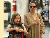 فيفيان ابنة أنجلينا جولى تصطحب صديقها الجديد فى لوس أنجلوس.. تعرف عليه