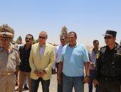 محافظ قنا يقود حملة مكبرة لإزالة 60 فدان أراضى أملاك الدولة بفرشوط