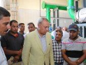 محافظ قنا يتابع الإجراءات النهائية لتشغيل محطة مياه فرشوط بتكلفة 270 مليون