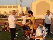 أشرف عامر يزور معسكر الإنتاج الحربى فى شرم الشيخ.. صور