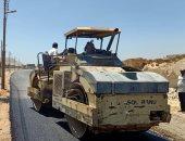 صور.. محافظ أسيوط يلعن بدء تنفيذ خطة الرصف بمركزى ساحل سليم وأبنوب