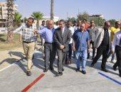 صور.. رئيس جامعة قناة السويس يفتتح العيادات الخارجية للمستشفى الجامعى