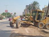محافظ الجيزة يوجه رؤساء المراكز والمدن برفع كفاءة طريق مصر اسيوط فى 72 ساعة