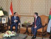 وكالة إيطالية تبرز لقاء السيسى مع عاهل الأردن: علاقات البلدين تشهد زخما