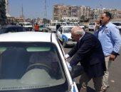 محافظ بورسعيد يتفقد تطوير محور أوجينى الرئيسى ويوجه بإزالة إشغالات الأرصفة