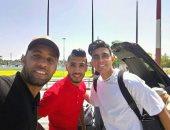 تداول صورة أوناجم مع بن شرقى فى مطار المغرب قبل الانضمام للزمالك