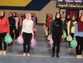 صور.. بروفات حفل افتتاح أسبوع شباب الجامعات الثانى لمتحدى الإعاقة بجامعة المنوفية