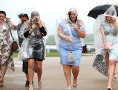 """أناقة السيدات فى مهرجان """"جودوود"""" للخيول بالرغم من تقلبات الطقس.. صور"""