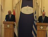 شكرى ونظيره اليونانى يؤكدان أهمية تعظيم الاستفادة من اكتشافات الغاز بالمتوسط