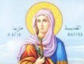 للإحتفال بعيد القديسة مارينا.. عشرات الأقباط يتوافدون على كنيسة العذراء