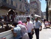 قوافل خدمية والكشف المجانى لـ 290 حالة شرق الإسكندرية.. صور
