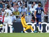 توتنهام يتقدم على ريال مدريد من خطأ دفاعي قاتل بكأس أودي.. فيديو