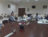 لجنة الوظائف القيادية بجامعة أسوان تجرى مقابلات شخصية للتجديد لمديرى العموم