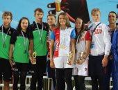 روسيا تكتسح منافسات اليوم الأول فى بطولة العالم لسباحة الزعانف بشرم الشيخ