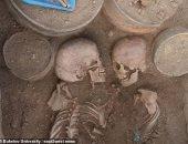الموت حبا..العثور على رفات حبيبان من العصر البرونزى بكازاخستان..اعرف التفاصيل