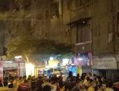 قارئ يشارك بصور السيطرة على حريق بمحل فى بشبرا دون إصابات