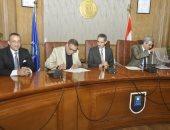 جامعة قناة السويس توقع برتوكول تعاون مع نقابة المهندسين بالإسماعيلية